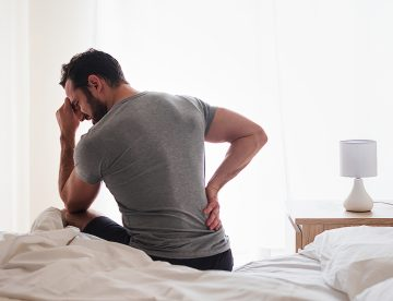 How a good night's sleep can cure your back pain
